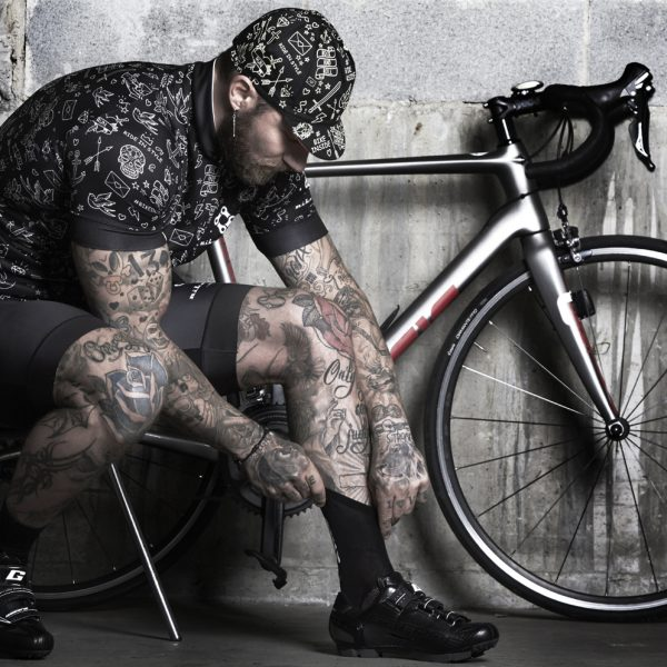 Cycling jersey tattoo style - BIKE INSIDE