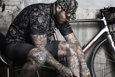 TATTOO CYCLING JERSEY