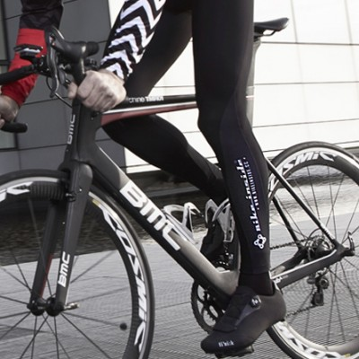 winter cycling tights - bike inside