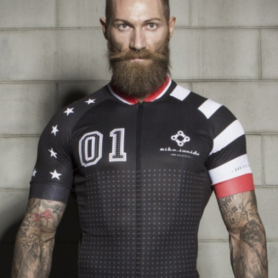 stars and stripes jersey - bike inside