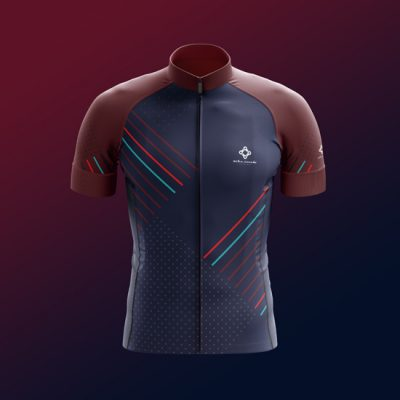 Stylish blue jerseys - by Bike Inside