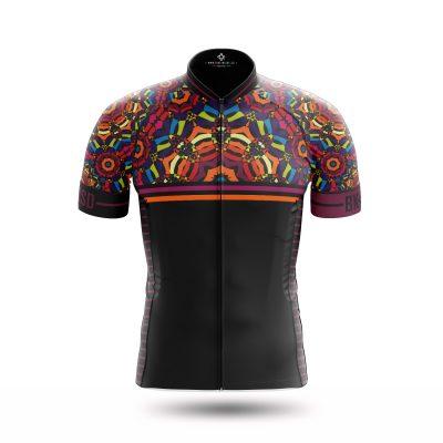 NEW Kaleidoscope style jerseys by Bike Inside