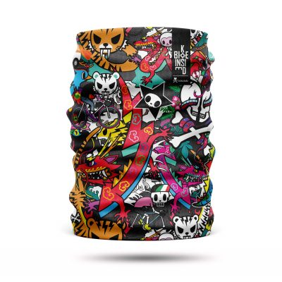 Multifunctionl neckwarmer Tokidoki - by Bike Inside