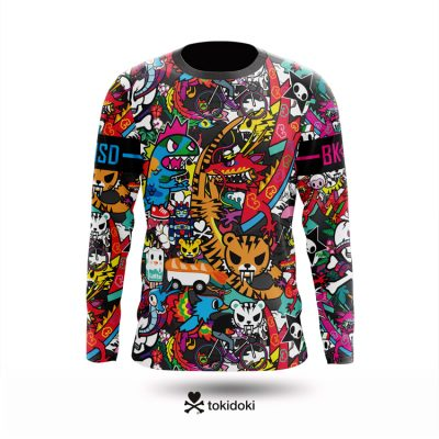 New Tokidoki L.E. Freeride jerseys by Bike Inside